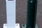 Bases de soporte para postes de 60x40mm